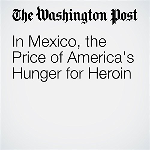 In Mexico, the Price of America's Hunger for Heroin audiobook cover art