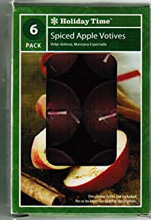 Holiday Time Spiced Apple Votives - 6