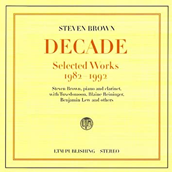 Decade - Selected Works 1982-1992