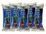 Aqua Control Biogel C21405, Agua Sólida para tus Plantas, Ideal para Riego en Vacaciones, Hasta 30 Días sin Regar - 400 ml (Pack de 5)
