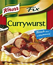 Knorr Fix Curried Sausage (Currywurst) 3 Bags