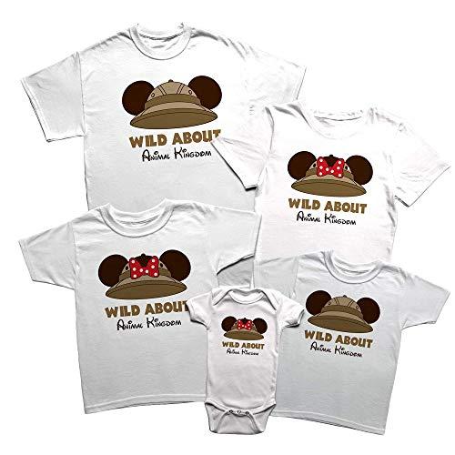 Animal Kingdom Disney Family Vacation Matching T-Shirts