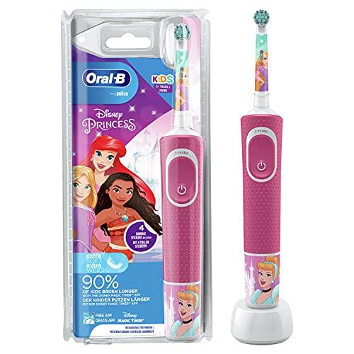 Oral-B Kids Princess Elektrische Zahnbürste/Electric Toothbrush für Kinder ab 3 ...