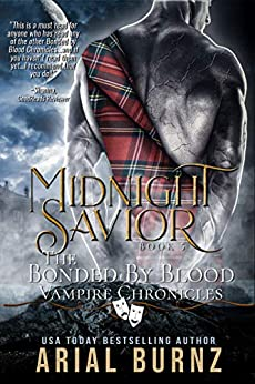 Midnight Savior: Vampire Romance Series for Adults (Bonded By Blood Vampire Chronicles Book 5) by [Arial Burnz, AJ Nuest]