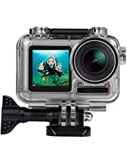 T Tersely Housing Case for DJI Osmo Action, Waterproof Case Diving Protective Shell 40m Bracket Screw Set Accessories for DJI Osmo Action Camera 2019