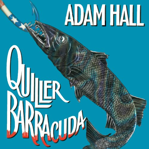 Quiller Barracuda audiobook cover art