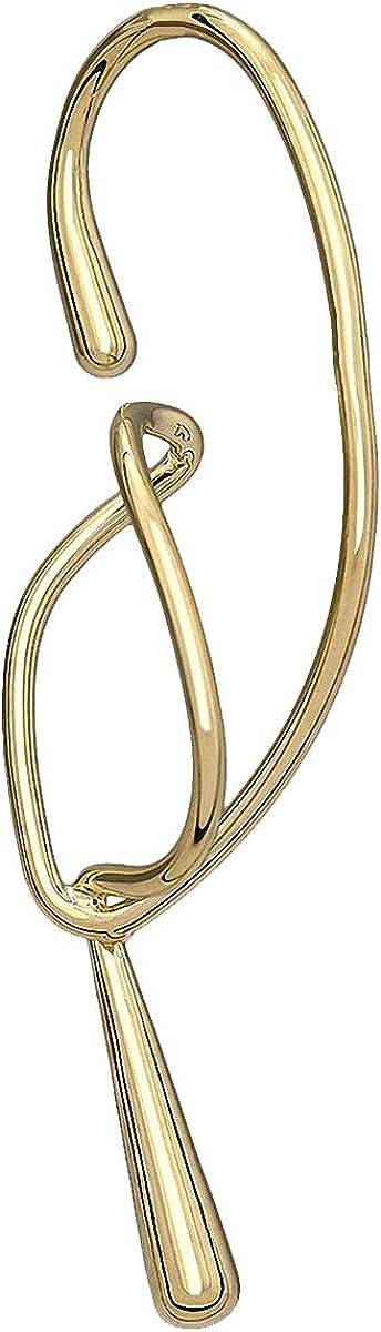 Women Geometric Ear Cuff Earrings Statement Metal Gold No Pierced Ear Clip Cuff