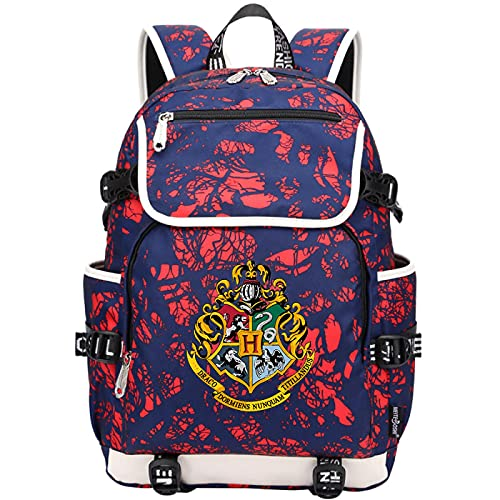 QLma Mochila de viaje para computadora portátil, colorida mochila escolar universitaria para hombres y mujeres con puerto de carga USB mochila para computadora 45x37x16cm (style12)