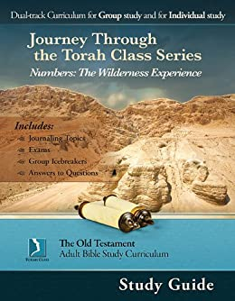 Numbers: The Wilderness Experience, Study Guide (Journey Through the Torah Class for Adults) by [Thomas Bradford, Kate Etue]