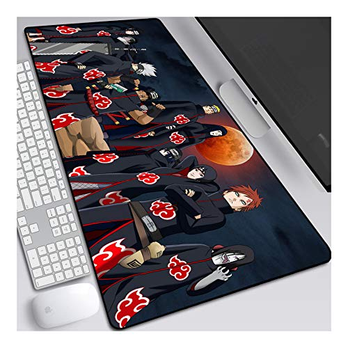 Stitched Edges Office Ideal for Desk Cover Computer Keyboard Laptop and PC 7 X 8.6 Inch Large Mouse Pats Anime Demon Slayer Kimetsu No Yaiba Gaming Mouse Mat Pad Unique Custom Mousepad