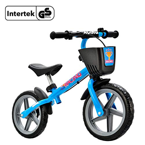Newbona Kids Balance Bike for Boys & Girls 3-6 Years Old No Pedal Balance Bicycle-Blue Learn to Ride Pre Push Bike