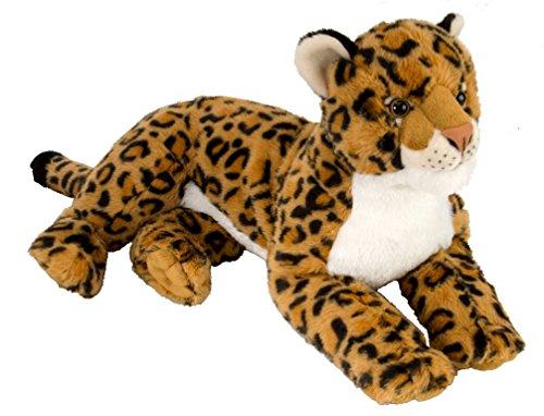 Wild Republic 12919 Cuddlekins Laying Leopard pluche dier, 40 cm