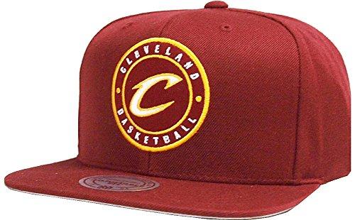 Mitchell & Ness NBA Cleveland Cavaliers Twill Circle Patch 198AZ Snapback cap One Size Kappe