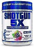 VPX Shotgun 5X Pre Workout Supplement for Men -Preworkout Energy Powder - Purple Haze Flavor - 20 Servings