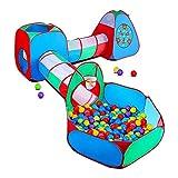 STLOVe Carpa niños,Túnel De Juego Personalizado para Juguetes De Carpa Emergente para Niños(Sin Pelota) Juguetes Cumpleaños para Niñas Niños Bebés Tiendas De Campaña.