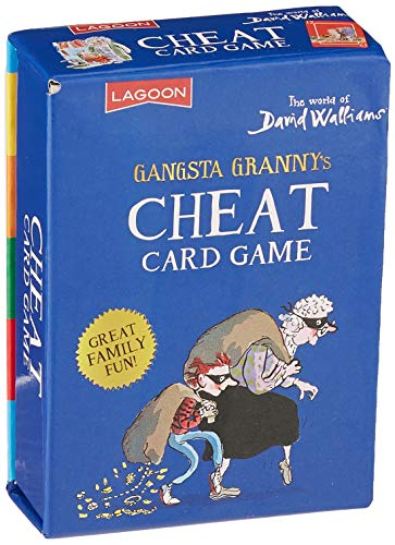 David Walliams Gangsta Granny's Cheat Card Game