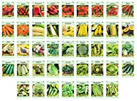 Set includes 43 lightly assorted Vegetable and Herb seeds! All Seeds are Heirloom, 100% Non-GMO! High Germination Rate within 7-14 days Great way to stock up for the next planting season! Wonderfully producing plants - On sale! Current stock will las...