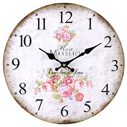 Rose Uhr, 34cm