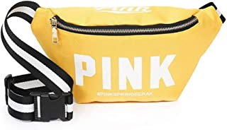 YWSCXMY-AU New Girl Pocket Bag Mini Diagonal Bag Pink Fanny Pack for Women Pouch Belt Waist Chest Bag (Color : Yellow)