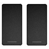 Ganvol 2 Pack Premium Anti-Slip Car Dash Sticky Pads 5.3 x 2.7 in, Cell Phone Dashboard Ho...