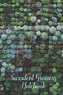 Succulent Growers Notebook: 6