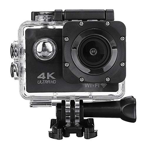 "WiFi 4K 16MP 2.0"" LCD Screen Sports Action Camera Waterproof 1080p, 30M Waterproof Helmet Camera"