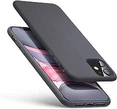 """ESR Funda Serie Yippee Color Soft para iPhone 11, Funda Suave de Silicona Líquida, Cómodo Agarre, Protección para Pantalla y Cámara, Absorción de Golpes. para iPhone 11 6,1"""".Gris."""