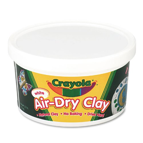 Crayola 2.5lb Air Dry Clay White