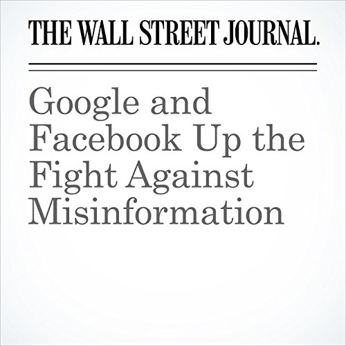 Google and Facebook Up the Fight Against Misinformation copertina