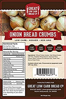 Great Low Carb Bread Co. - Low Carb Onion Bread Crumbs, 4 oz.