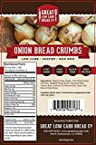 Great Low Carb Bread Co. - Low Carb Onion Bread Crumbs, 4 oz. keto friendly