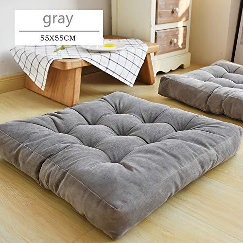 Stuhlkissen 55X55cm,Weiche Stuhlkissen Sitzkissen für Esszimmer/Garten, Haus Auto Büro Sitzkissen - vielen Farben