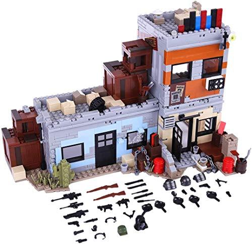 ZZT Piece Militar Bloques de construcción Juguete Ejército Militar Armas y Accesorios Set para Swat Team Police Soldiers Mini Figuras Compatible con Lego