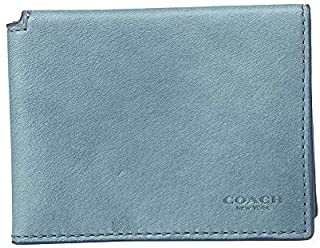 COACH Men's Trifold ID Wallet in Hand Dyed Sport Calf