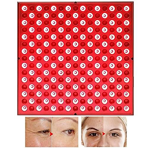 Grado Clínico Terapia de Luz LED 54W en Rojo Oscuro 660nm y Infrarrojo Cercano 850nm Lámpara de Terapia de Luz Roja para la Piel Anti-envejecimiento,Alivio del Dolor