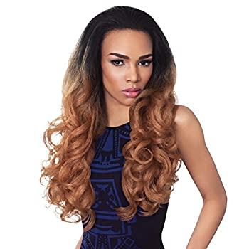 Outre Synthetic Hair Half Wig Quick Weave Stunna  1B