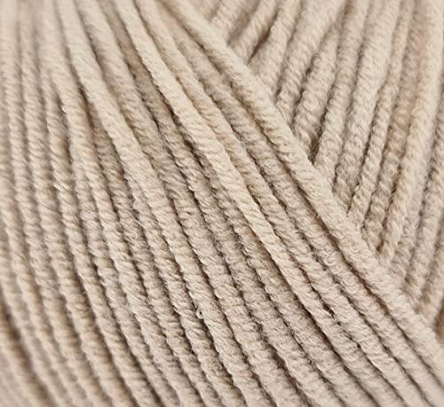 ggh Malibu   mezcla de algodón   longitud aprox. 135 m/50 g   grosor de aguja 3,5 – 4,5   lana...