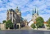druck-shop24 Wunschmotiv: Dom Hill of Erfurt Germany