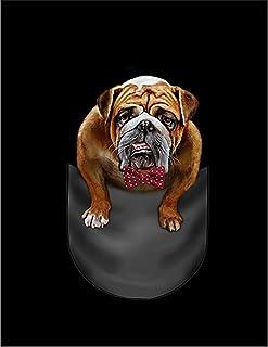 Fox Republic ブルドッグ 蝶ネクタイ ポケット 犬 レッド キッズ パーカー シッパー スウェット トレーナー 130cm