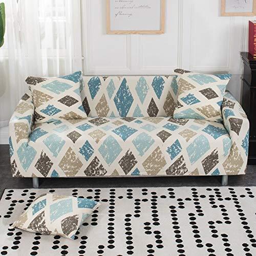 WXQY Funda de sofá elástica Moderna para Sala de Estar Fundas de sofá de Licra Envoltura Ajustada Funda de sofá con Todo Incluido Protector de Muebles A11 1 Plaza