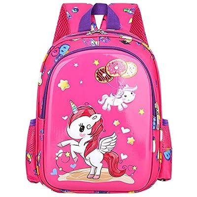 Mochila para Muchachas,2020 Lindo Unicornio Jardín de Infancia Preescolar Bolsa para de Niños Pequeños de jardín de Infantes Niñito Niños Mochila Escolar, 2-6 años