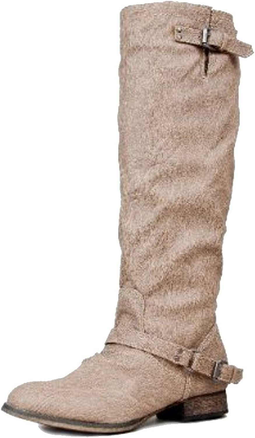 Breckelles Women's Outlaw-81 Knee High Boot