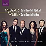 Weber/Mozart: Klarinettenquintette - Julian Bliss (Klarinette)