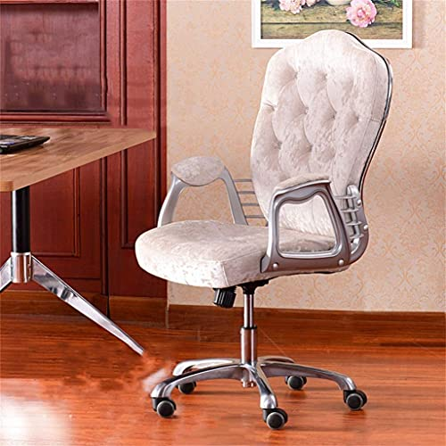 Mesa de salón de pie de aleación de aluminio, silla de ordenador casera, silla de sofá de dormitorio, respaldo cómodo de la silla, función de elevación. 65 × 52 × 109 cm