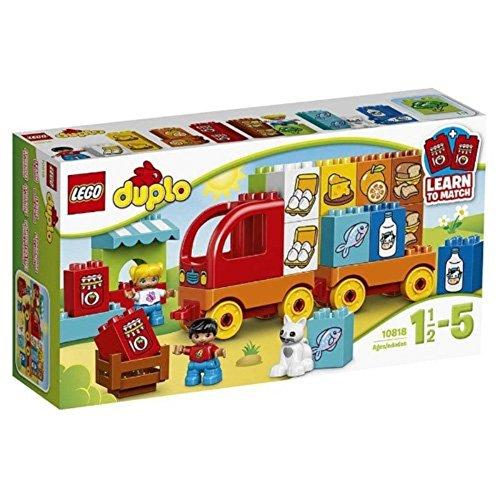 LEGO Duplo 10818 - Mein erster Lastwagen, Lernspielzeug, große Bausteine