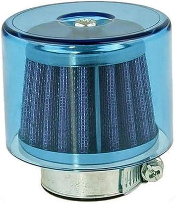 Luftfilter Air System Gerade 38mm Blau Auto