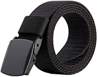 This military belt makes with lightweight and wear-resisting nylon material that has a strong evaporation of sweat, more comfortable and breathable, feel more flexible, easy to dry in air The total length is 135cm(53.15 Inch), strap width is 3.8 cm(1...