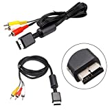 StyleZ 6ft Audio Video AV/TV Cable Cord to RCA for Sony Playstation PS2/PS3 System New