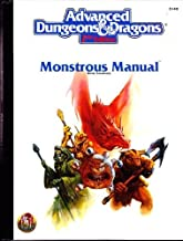 Monstrous Manual (AD&D 2nd Ed Fantasy Roleplaying Accessory, 2140)