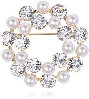 Spille Con Diamanti Tondi Accessori Per Spille Femminili Con Perle Dolci